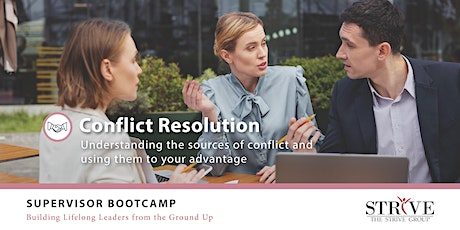 Conflict Resolution tickets