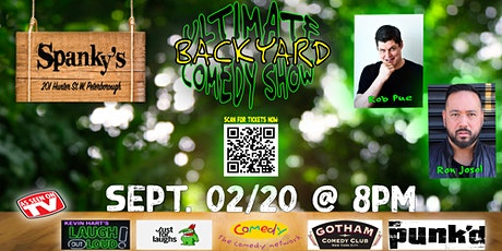 The Ultimate Backyard Comedy Show tickets