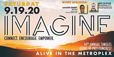 "IMAGINE // 14th Annual ""Alive in the Metroplex"" Singles Event tickets"