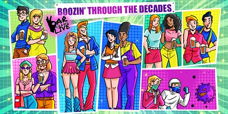 Boozin' Through The Decades Bar Crawl | Hoboken, NJ - Bar Crawl Live tickets