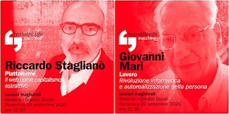 ff20 | STAGLIANÒ - MARI | Modena, Giardini Ducali biglietti