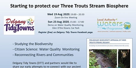 Riverwatch - Starting to Protect our Three Trouts Stream Biosphere tickets