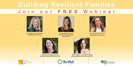 Building Resilient Families tickets
