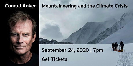 Conrad Anker | Mountaineering and the Climate Crisis tickets