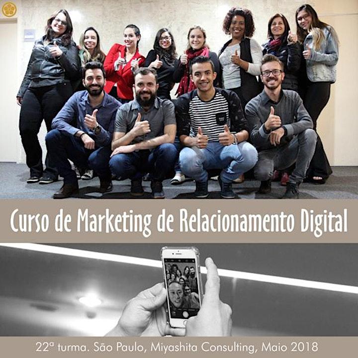 Imagem do evento Curso de Marketing de Relacionamento Digital - 24ª turma. Em São Paulo, SP