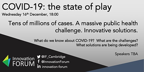 COVID-19: the state of play tickets