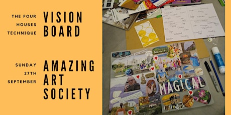 The Four Houses Technique - Vision Board Workshop tickets