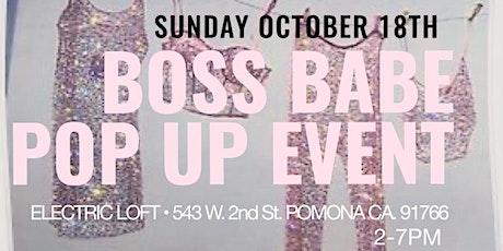 Boss Babe Pop Up Event tickets