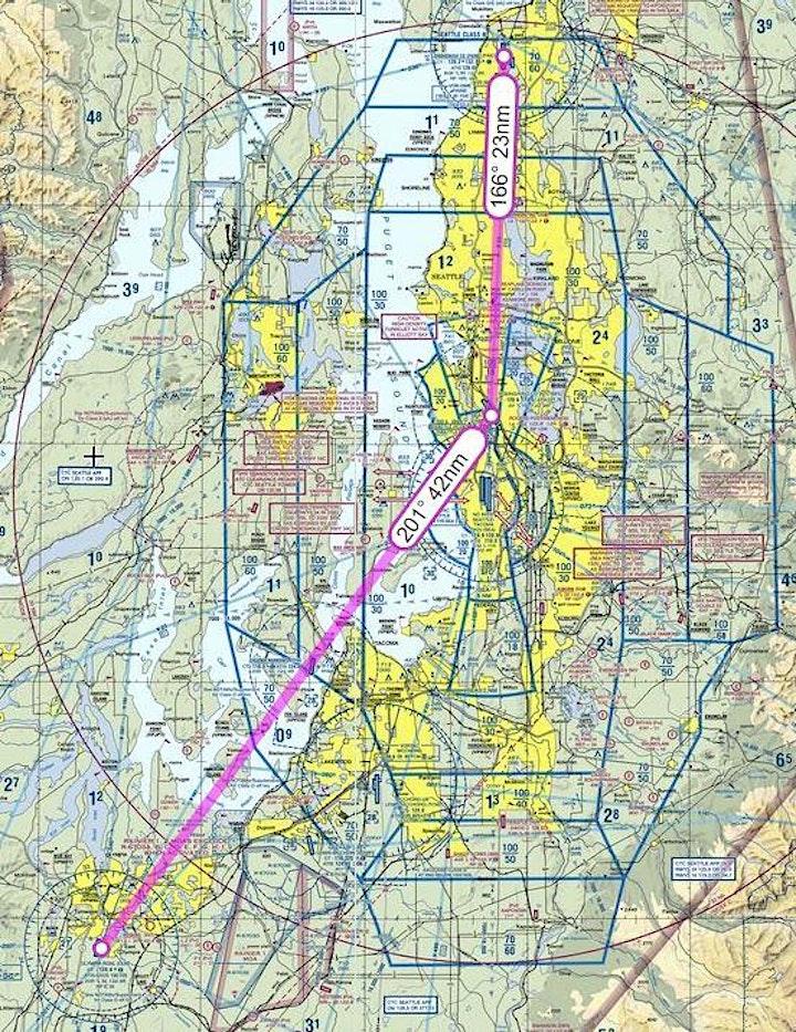 VFR Sim Flight - PAE to BFI to OLM (X-Plane with PilotEdge ATC) image