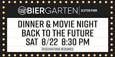 Dog Haus Biergarten Clifton Park: Dinner & A Movie - Back to the Future tickets