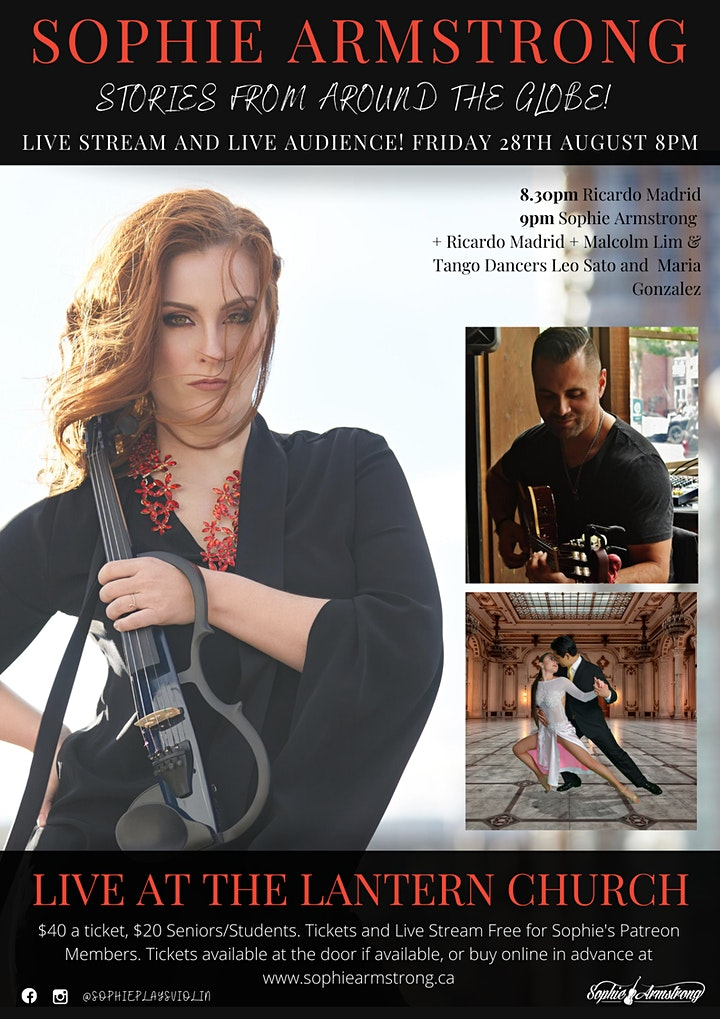 Stories From Around The Globe - Violinist Sophie Armstrong image