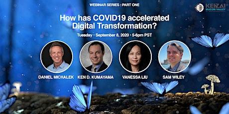 Keizai Webinar:How has COVID-19 accelerated  Digital Transformation? tickets