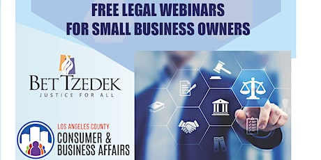 Free Legal Webinar - COMMERCIAL LEASES DURING COVID-19 tickets