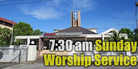 7:30 am SUNDAY WORSHIP SERVICE tickets
