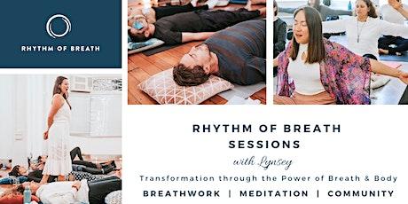 An evening with Breath - Rhythm of Breath workshop tickets