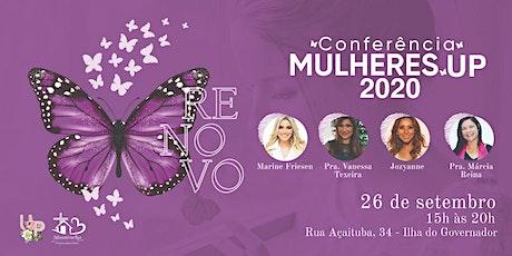 Conferência Mulheres UP 2020 - Renovo ingressos