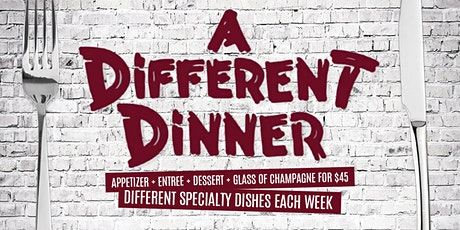 A Different Dinner | Each & Every Friday at Brooklyn tickets