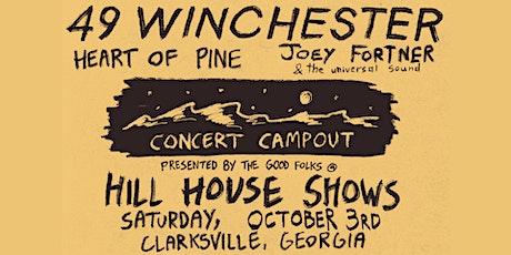 49 Winchester ALBUM RELEASE Concert Campout tickets