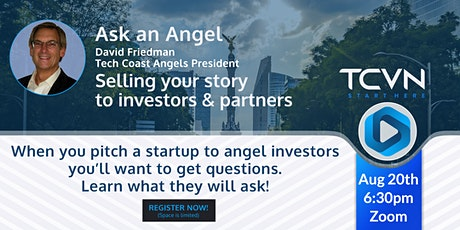 Ask an Angel: Selling your Story (to Investors and Partners) tickets