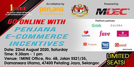 Go Online With Penjana E-Commerce Incentives tickets