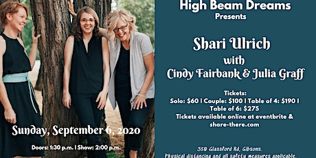 Shari Ulrich with Cindy Fairbank & Julia Graff - Back to Live Music tickets