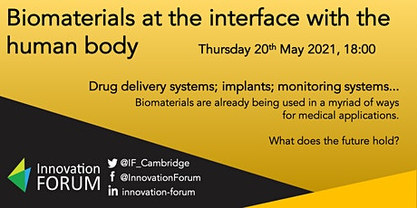 Biomaterials at the interface with the human body tickets