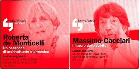 ff20 | DE MONTICELLI - CACCIARI | Carpi, Tenda di Piazza Martiri biglietti