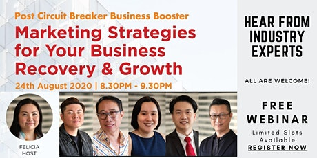5 Marketing Strategies For Your Business Recovery and Growth tickets