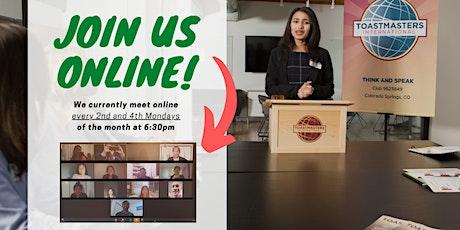 Online - Public Speaking in Practice (2) tickets