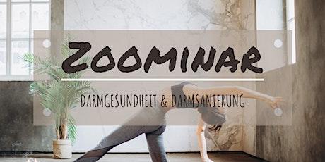 Zoominar - Darmgesundheit & Darmsanierung Tickets