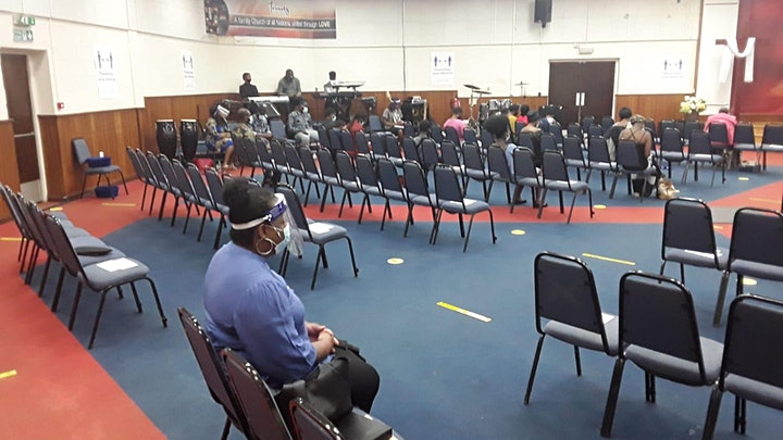 Afternoon Family Worship Service  At TBC~West Norwood (In Akan) image