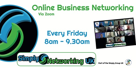 Simply Networking UK Online Business Networking tickets