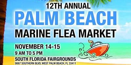 The 12th Annual Palm Beach Marine Flea Market and West Palm Seafood Fest tickets