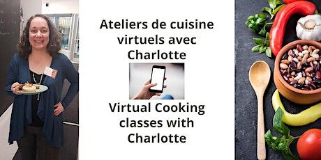 Atelier de cuisine avec Charlotte Habegger, reine des épices (FRANÇAIS) billets