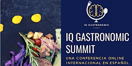 Cumbre Gastronómica digital en Español - IQ Gastronomic SUMMIT entradas