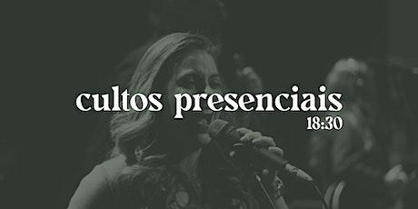 CULTOS PRESENCIAIS tickets