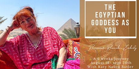 Mystery Teachings of the Egyptian Goddess tickets