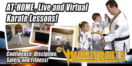 Free At Home Online Karate with Live, Professional  Instructor! tickets