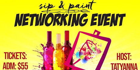 Sip & Paint Network Event tickets