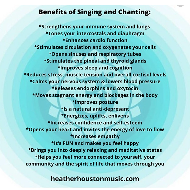 The Art of Mindful Singing Online Fall Series image