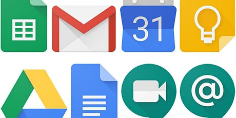 Creating Documents, Slides & Spreadsheets with Google Apps (Online) tickets