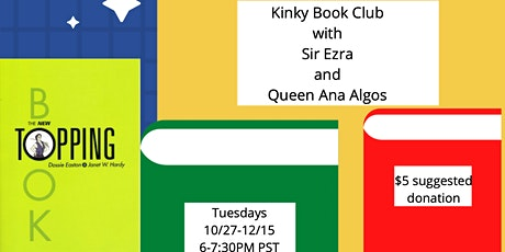 Tuesday Book Club with Sir Ezra and Queen Ana: The New Topping Book tickets