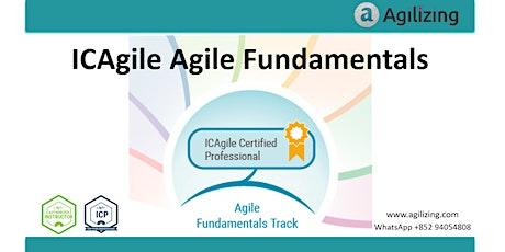 ICAgile Agile Fundamentals Certification - 2 days tickets