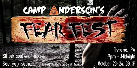 Camp Anderson's FearFest tickets