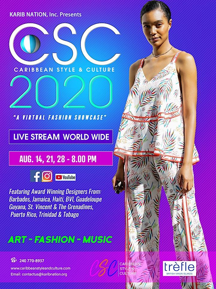 Caribbean Style Culture 2020 Tickets Fri Aug 21 2020 At 8 00 Pm Eventbrite