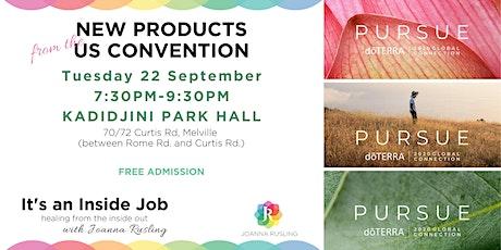 dōTERRA New Product Showcase - Perth tickets