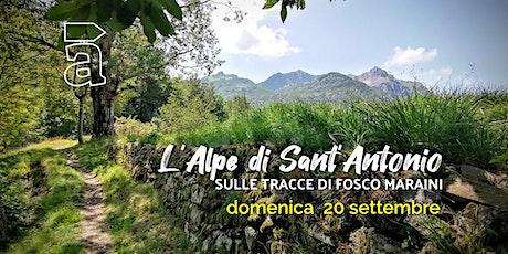 L'Alpe di Sant'Antonio biglietti