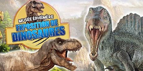 """Le Musée Ephémère présente: """"Les Dinosaures"""" à Strasbourg - Tour 2020 Tickets"""