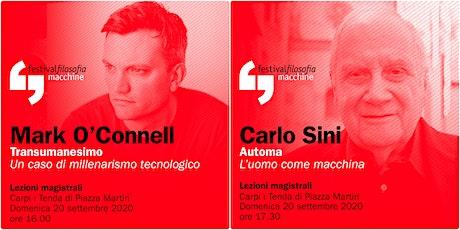 ff20 | O'CONNELL - SINI | Carpi, Tenda di Piazza Martiri biglietti