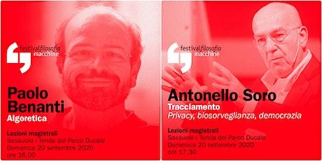 ff20 | BENANTI - SORO | Sassuolo, Tenda del Parco Ducale biglietti